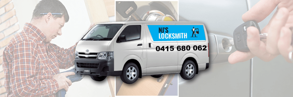 NJ's Locksmiths Van